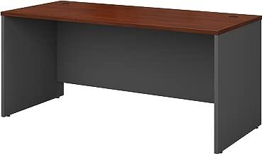 Bush Business Furniture Series C 66W x 30D Office Desk in Hansen Cherry