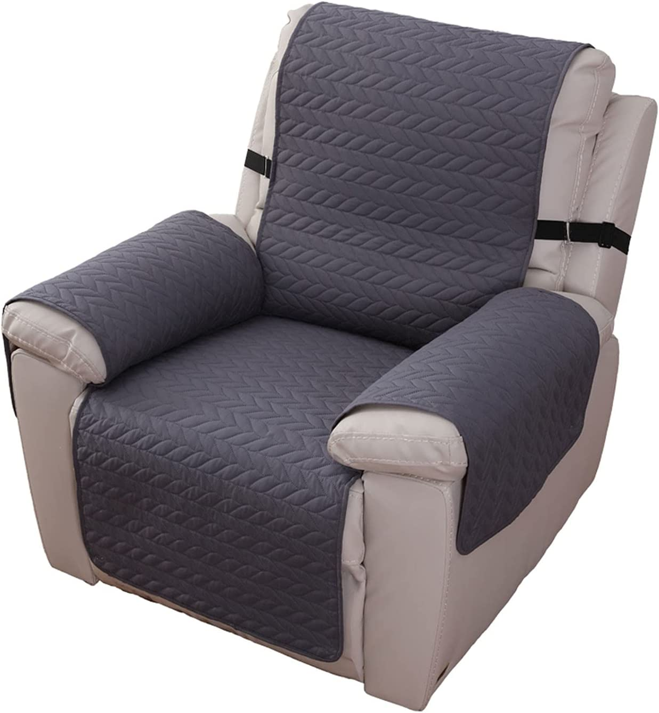 100% Waterproof Recliner Chair Cover Colorado Springs Mall Non-Slip Elegant Sofa Sof Slipcover