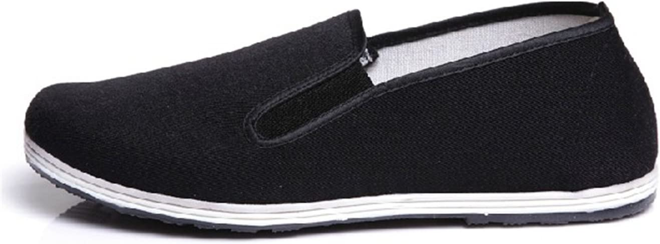 UNOW Chinese Traditional Cloth Fu Shoes Black Limited time for Popular brand in the world free shipping Kung