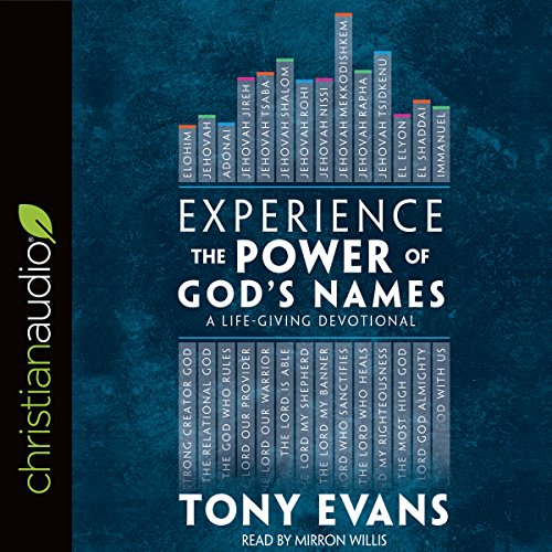 Experience the Power of God's Names audiobook cover art