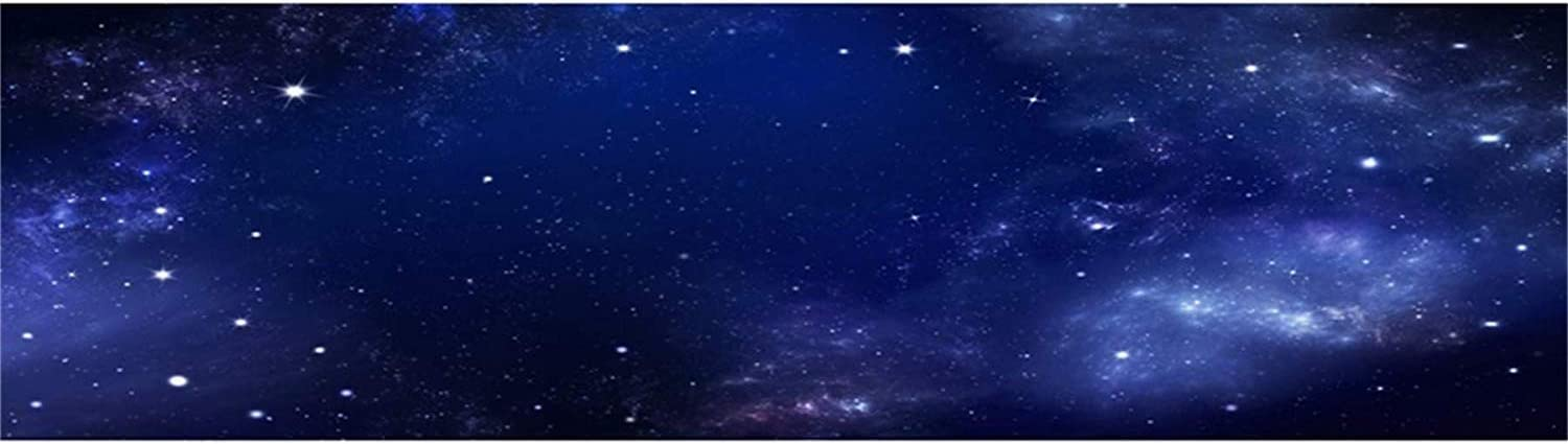 Starry Nightsky Dreamy Nebula Galaxy 15x8ft Vinyl Photography Background Shimmering Stars Mysterious Universe Outer Space Backdrop Child Baby Adult Portrait Wedding Shoot Birthday Banner