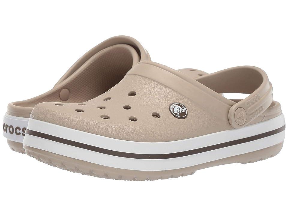 Crocs Crocband Clog (Cobblestone/Walnut) Clog Shoes