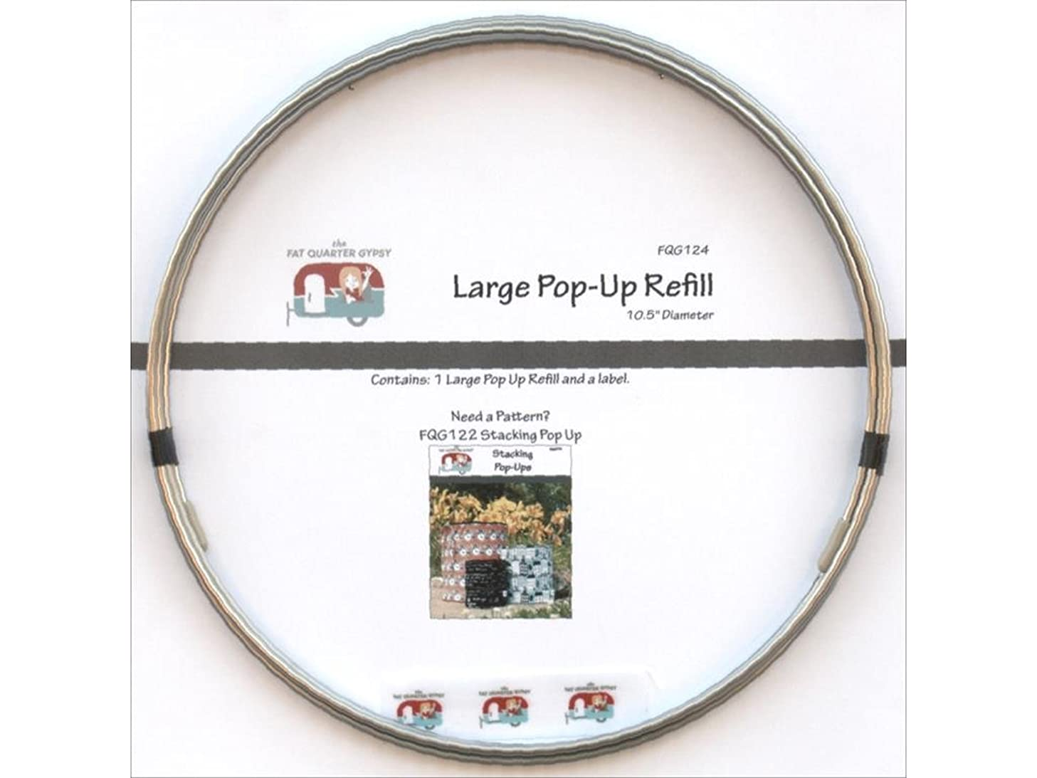 The Fat Quarter Gypsy The Refill Large Pop-Up Rfl Lg 10.5