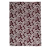 Vera Bradley Collegiate Plush XL Throw Blanket (Multiple Teams Available), Texas A and M University Maroon/White Bandana