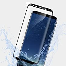 Tech Zebra Tempered Glass Screen Protector for Samsung Galaxy S9, 3D Curved Anti-Scratch High Definition Easy Installation 9H Hardness Ultra Thin Case Friendly Film