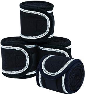 WEATHERBEETA Deluxe Fleece Bandage 4 Pack Horse Rug