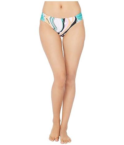 Trina Turk Nazare Side Shirred Hipster Bikini Swimsuit Bottoms (Multi) Women