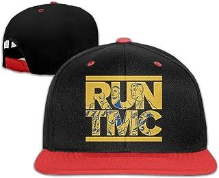 Tim Mitch Chris Warriors RUN TMC Hip-Hop Baseball Hats One Size Unisex