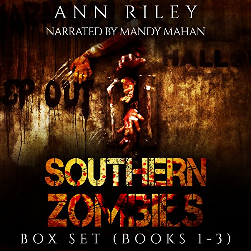Southern Zombies Three Book Box Set audiobook cover art
