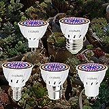 Invernadero de la lámpara LED 48LEDs Planta E27 220V GU10 llevado...