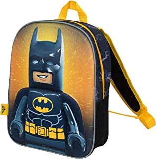 Mochilas Infantiles Niño Lego Movie Batman Cartera Escolar