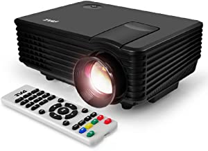 Portable Video Projector Full HD with Remote – Home Theater Projector Tv Digital..