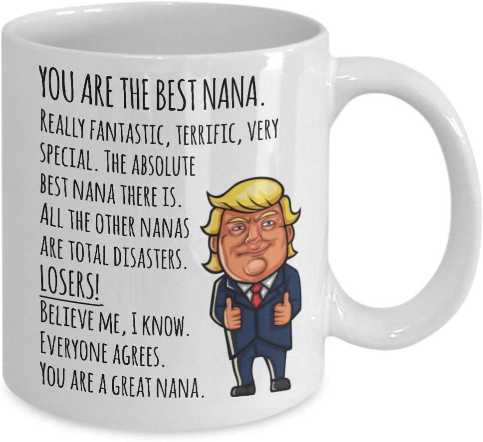 Milwaukee Mall Donald Trump Nana Mug Funny Gifts POTUS High order Nanas for Gift