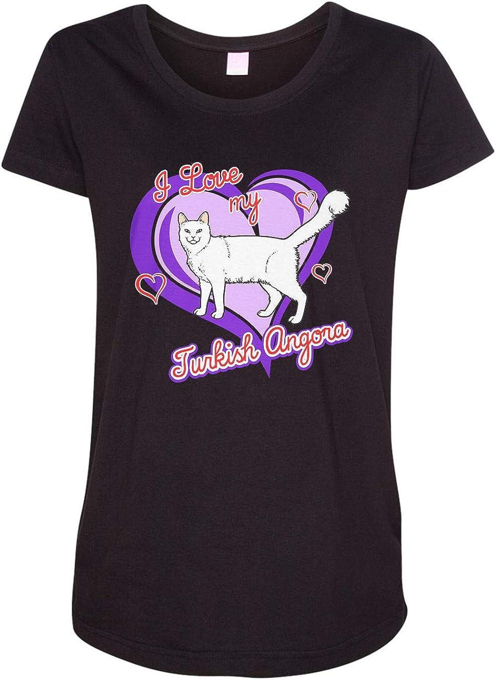 HARD EDGE DESIGN Women's Turkish Angora Cat T-Shirt