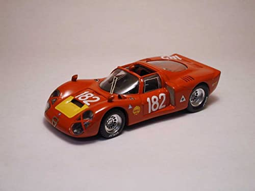 BEST BT9191 ALFA ROMEO 33.2 N.182 T.FL.68 1 43 MODELLINO DIE CAST MODEL