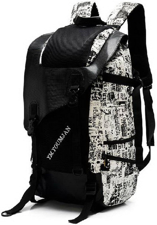 Geometrische Rucksack Segeltuch-Rucksack für Mdchen   Jungen, groe Kapazitt