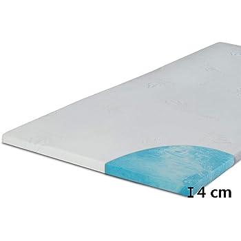 MSS® NightGel Microfaser-Bezug Matratzentopper inkl