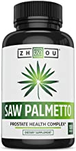 Saw Palmetto Supplement For Prostate Health - Extract & Berry Powder Complex - Healthy Urination Frequency & Flow Formula ...