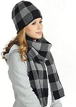 Rdylymx Men's Scarves Hot Sale Scarf Classic Arrival Winter Plaid Scarf Tassel Edge Soft Warm Scarf
