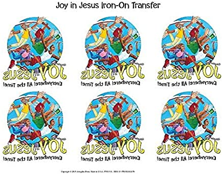 Vacation Bible School Vbs 2016 Joy in Jesus Iron-on Transfers: Pkg of 12: Everywhere! All the Time!