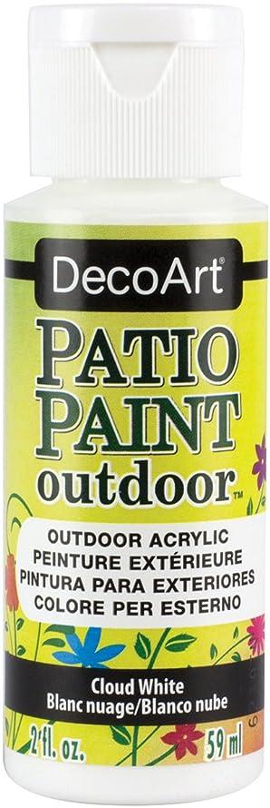 Patio Paint 2-oz. Cloud White Acrylic Paint