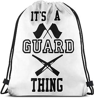 Its A Guard Thing Cool Drawstring Backpack String Bag