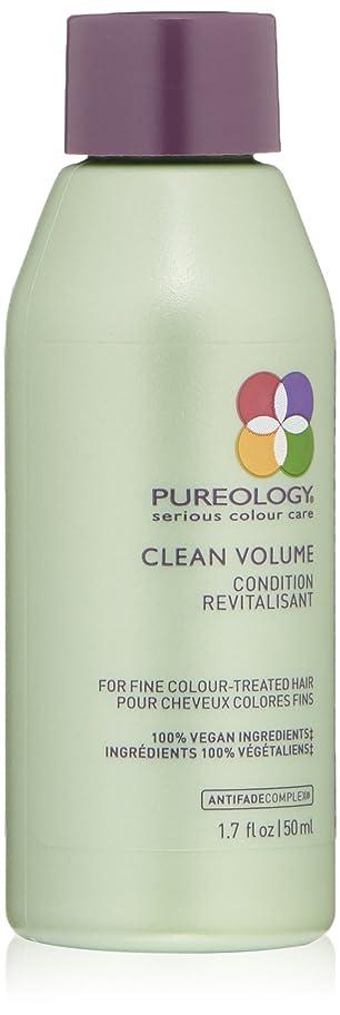 Pureology クリーンボリュームコンディショナー、1.7液量オンス 1.7 fl。オンス 0
