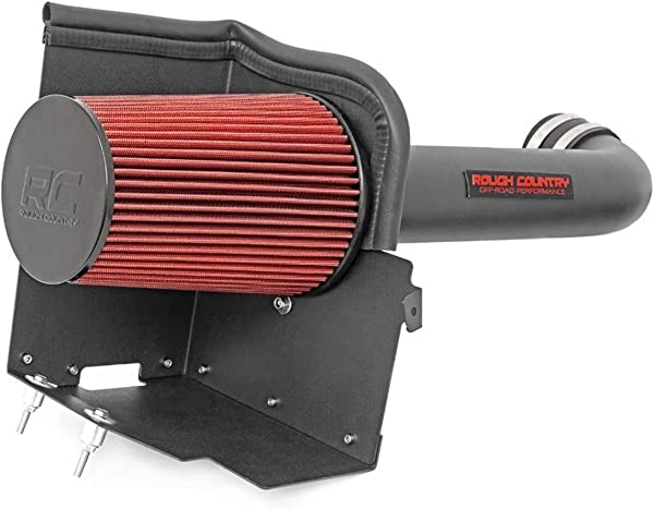 Rough Country Cold Air Intake Fits 2015 2019 F150 F 150 5 0L V8 10555 Cold Air Intake