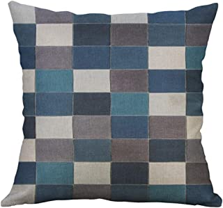 Irregular Geometric Pattern Pillow Case Cushion Cover 45X45cm