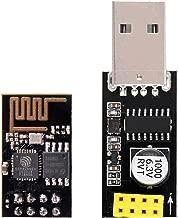 IZOKEE ESP8266 ESP-01 Módulo Transmisor-Receptor WiFi con Adaptador USB para Arduino UNO R3 Mega2560 Nano Raspberry Pi