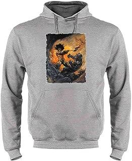 Barbarian 2 by Frank Frazetta Art Sweatshirt Hoodies for Men