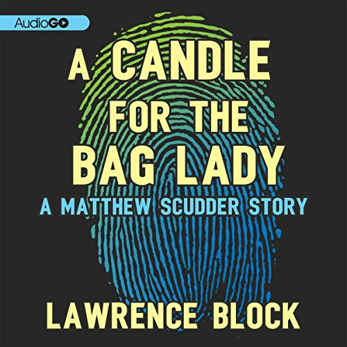 A Candle for the Bag Lady audiobook cover art