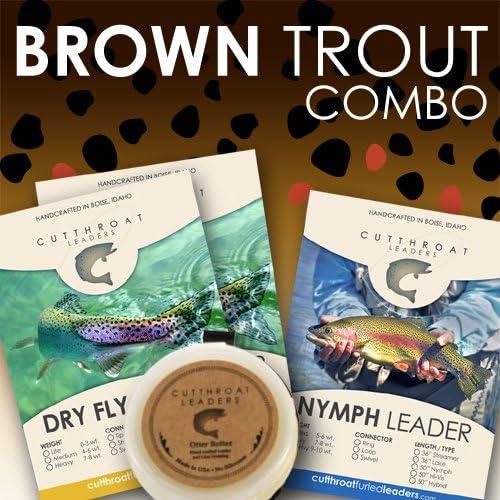Cutthroat Leader Brand Cheap Sale Venue Brown Combo-FBA Trout Sacramento Mall