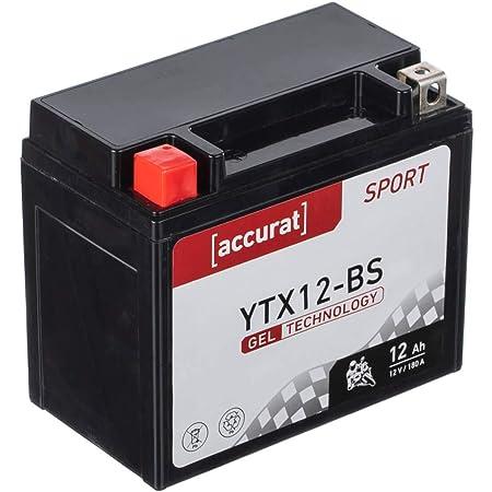 Siga Gel Motorradbatterie 12v 12ah 250a En Gel Batterie Ytx12 Bs Gel12 12 Bs Ytx12 4 Gtx12 Bs Etx 12 Bs 51012 Auto