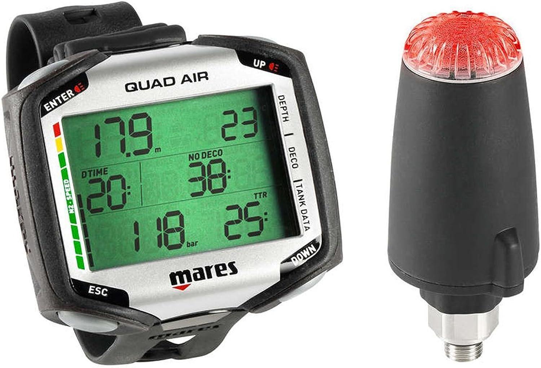 Mares Quad Air w  LED Transmitter