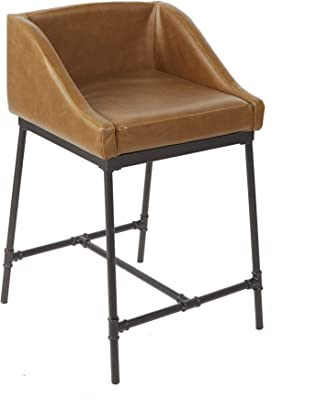 Marvelous Amazon Com Sloane Elliot Se0039 Harvey Leather Bar Stool Gmtry Best Dining Table And Chair Ideas Images Gmtryco