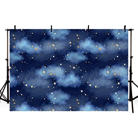 6x6FT Vinyl Backdrop Photographer,Kaleidoscopic Universe Sign Background for Baby Birthday Party Wedding Studio Props Photography