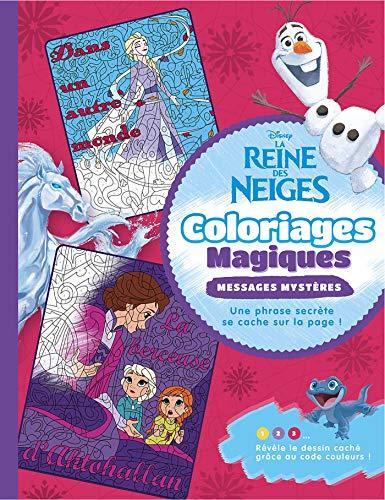 Coloriage magique la Reine des neiges 2