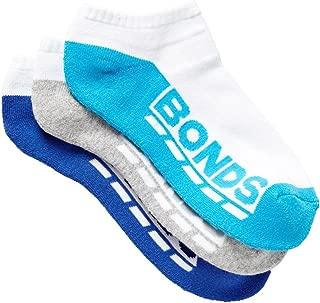 Bonds Kids Logo Low Cut Sport Socks 3 Pack