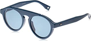 Fendi FPSWB Panto Sunglasses for Women - Blue Lens