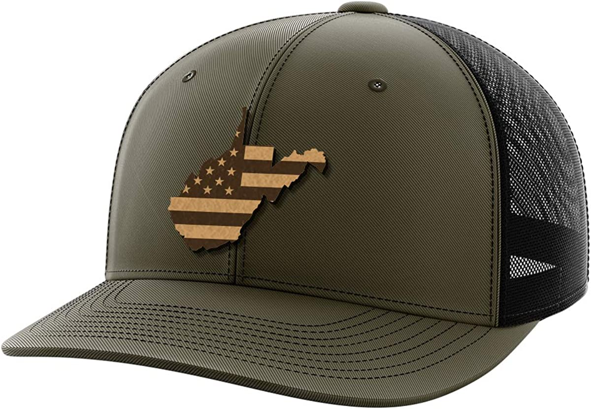 West Virginia United Leather Patch Hat