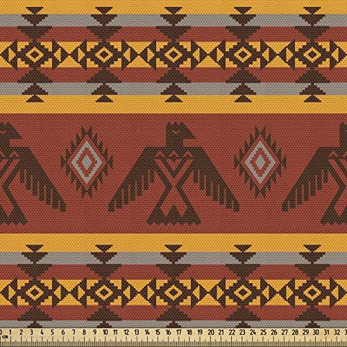 ABAKUHAUS stammtyg som metervara, ursprungsbekantad motiv, kvalitet av vävt tyg inredningsaccessoarer, 5 m (148 x 500 cm), cimt ringblomma grå