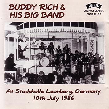 At Stadshalle Leonberg, Germany 10th July 1986