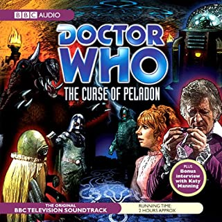Couverture de Doctor Who: The Curse of the Peladon