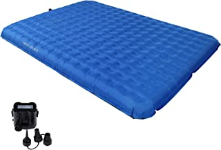 KingCamp Velocity Air Bed with Versatile Pump, Compact Air Mattress for 2 Person Backpacking, Hiking, Climbing, Or Indoor ...