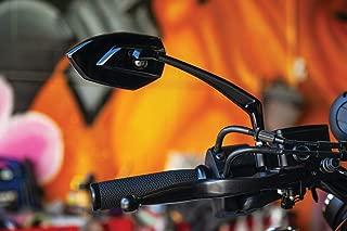 Kuryakyn 5947 Thresher Handlebar Grips for Throttle and Clutch: Kawasaki, Suzuki, Victory & Yamaha Motorcycles, Satin Black, 1 Pair