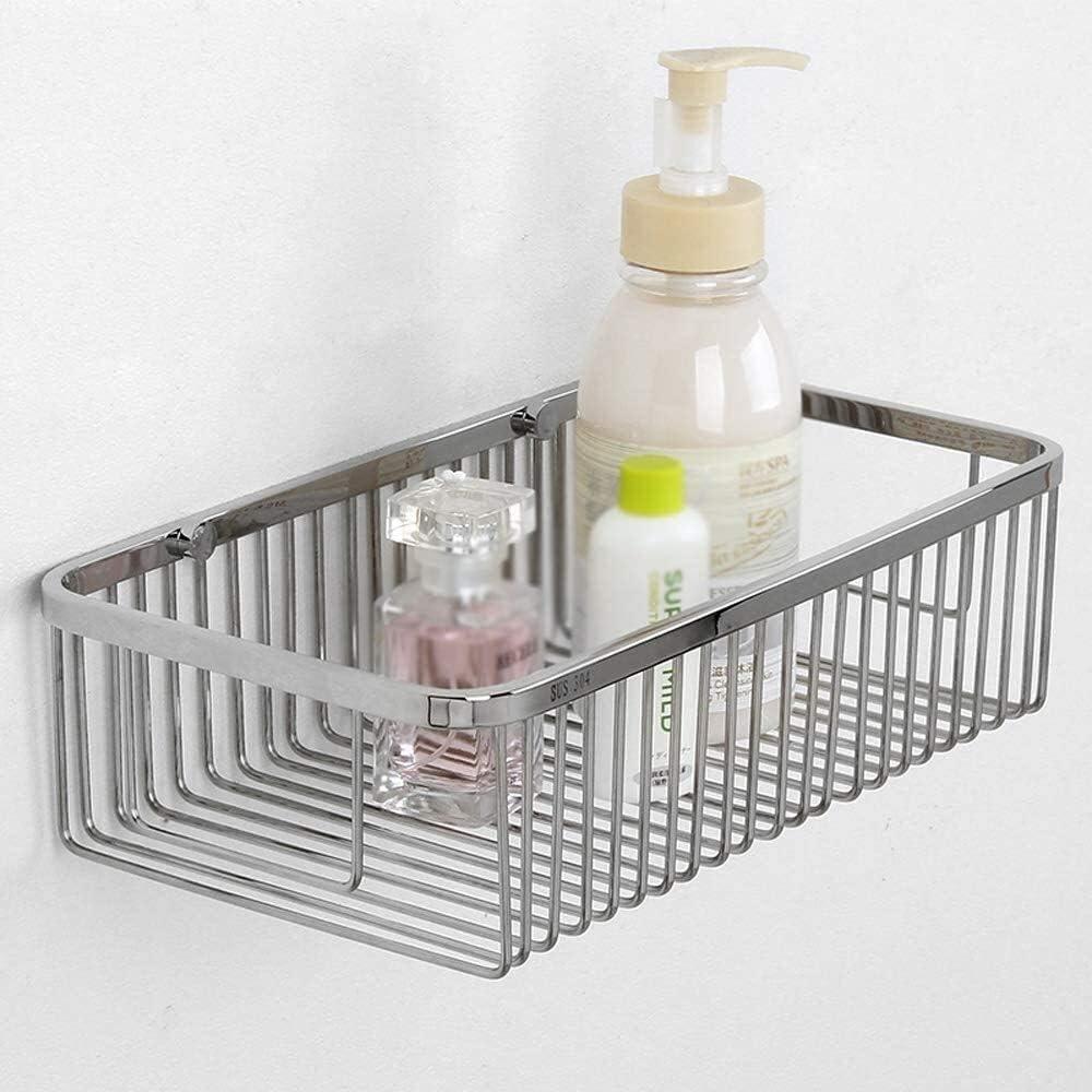 overseas DBS Reservation UK Bathroom Shelf Silver Caddy Corner Shower Rectangle Shelv
