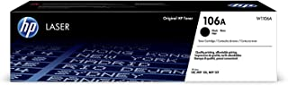 HP 106A W1106A Cartuccia Toner Originale da 1000 Pagine, Compatibile con Stampanti LaserJet Serie 100 e Laserjet Serie MFP...