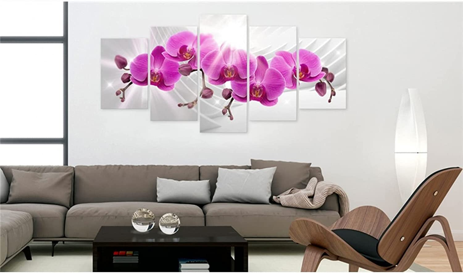 HETHYAN Modern Canvas Painting 5 Gorgeous Surprise supreme price Flower Posters Pieces
