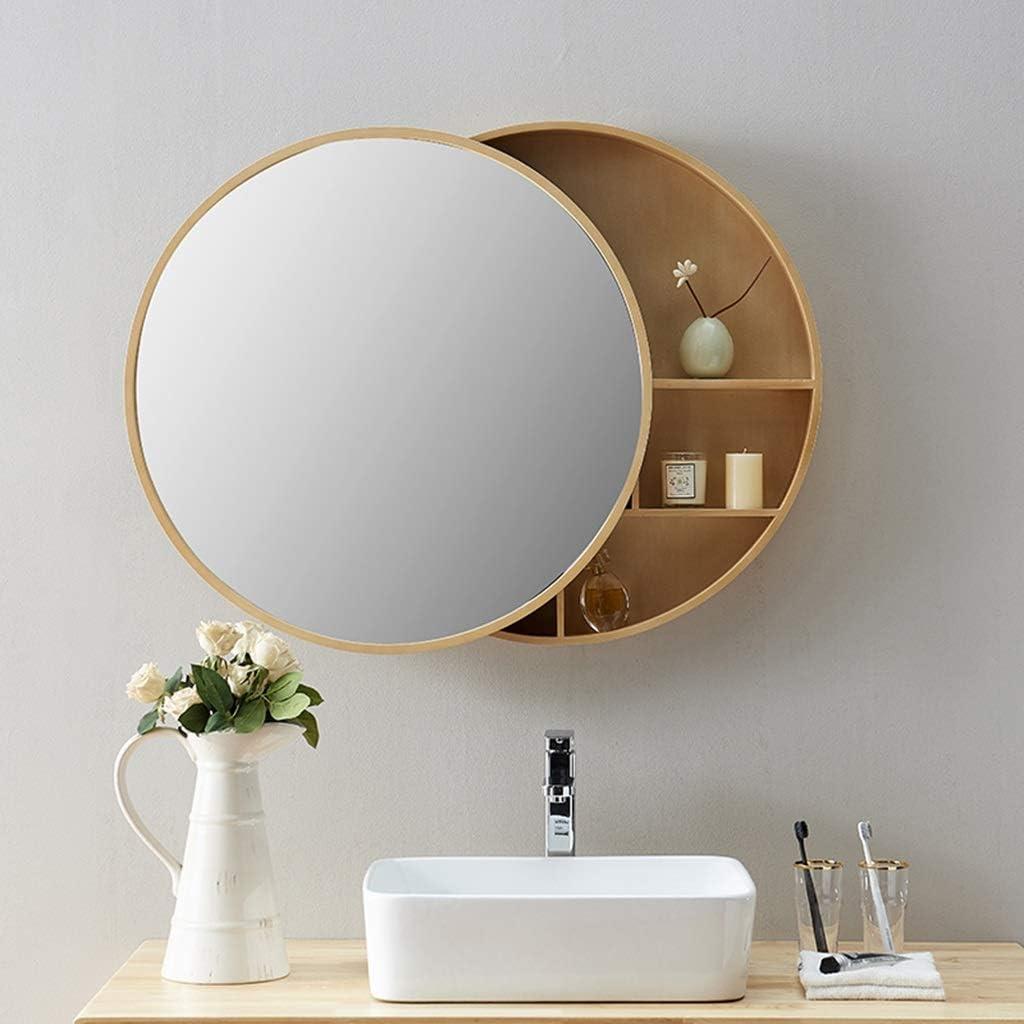Amazon.de Massivholz Badezimmerspiegelschrank Wandschrank ...